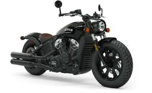 2019 Indian SCOUT BOBBER ABS THUNDER BLACK