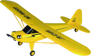 New RC Airplane Brushless Electric J3-CUB RTF 2.4G