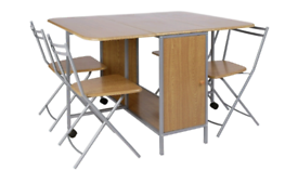 Brand new extendable dining table and chairs