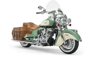 2019 Indian CHIEF VINTAGE WILLOW GREEN IVORY CREAM / 73$/sem
