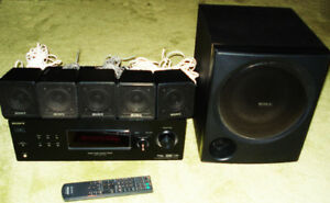 Sony Surround Sound STR-KG700 Amp 5 Speakers + Sub 5.1