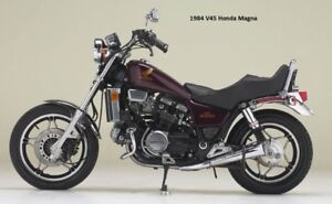 All seven motorcycles to be sold together