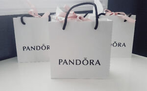 Authentic Pandora Gift Bags, Charm Boxes