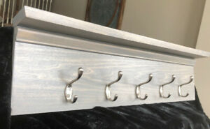 Wall Hanging Coat Hook with shelf