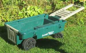 Planter's Wagon gardening tools cart