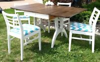 Vintage Table and 4 Chairs