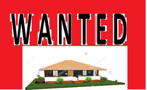 WANTED SMALL BUNGALOW IN KINGSTON NAPANEE PERTH SMITH FALLS AREA