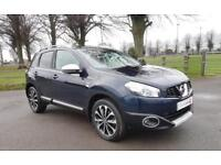 2012 12 Nissan Qashqai 1.6dCi ( s/s ) 4WD N-TEC+ with Navigation