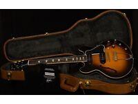 Gibson ES-390 With P-90's Vintage Dark Burst