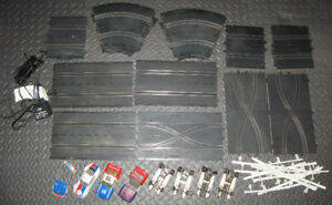 Cox Super Scale Slot Car Track + Cars