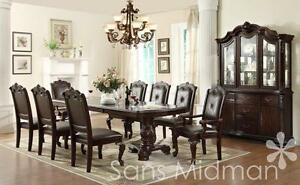 old world traditional formal dining room furniture