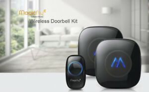 Magicfly Plug-in Wireless Doorbell Kit