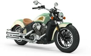 2019 Indian SCOUT ABS WILLOW GREEN IVORY CREAM