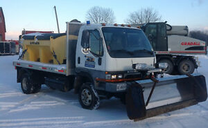 Snow plow and salter for sale