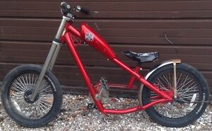 Candy Apple Red Chopper