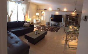 FULLY FURNISHED,4 1/2(2 BEDROOMS),ALL INCLUDED,DOWNTOWN MONTREAL