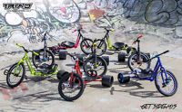 DRIFT TRIKES, PARTS & ACCESSORIERS