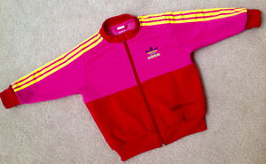 ADIDAS Bright & Colourful Three-Striped Jacket -NEW CONDITION!