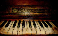 Private Piano Lessons (student's or teacher's home); $25/hr