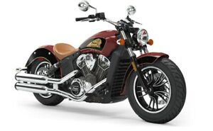 2019 Indian SCOUT ABS INDIAN MOTORCYCLE RED THUNDER BLACK