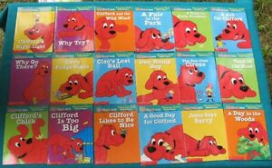 Clifford Phonics Fun Packs #1, #3 and #4