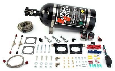 Nitrous Outlet 92-02 Dodge Viper Hardline Plate System (70-200HP) (10lb bottle)