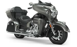 2019 Indian ROADMASTER STEEL GRAY SMOKE THUNDER BLACK SMOKE /