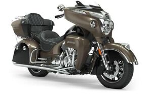 2019 Indian ROADMASTER POLISHED BRONZE THUNDER BLACK