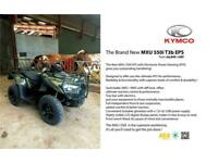 Kymco MXU550 EPS 4x4 T3B - BRAND NEW MODEL! POWER STEERING AND WINCH - STANDARD