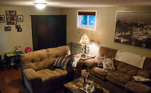 UTILITIES INCLUDED - Beautiful 2 brdm basement suite Bonnie Doon