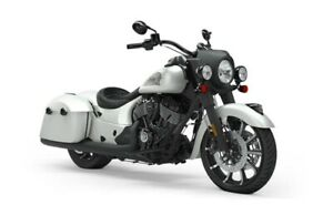 2019 Indian SPRINGFIELD DARK HORSE WHITE SMOKE