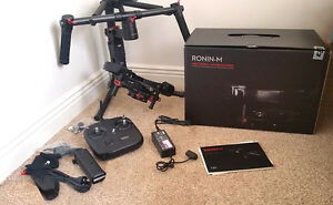 DJI Ronin M Boxed with all accessories Cinema Gimbal Extra Batte
