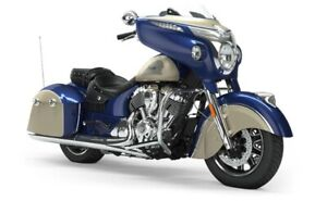 2019 Indian CHIEFTAIN CLASSIC DEEP WATER METALLIC DIRT TRACK T