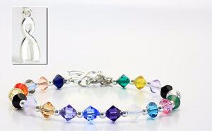 Original and genuine 'Hope Crystals' Cancer Awareness Bracelet St. John's Newfoundland image 1