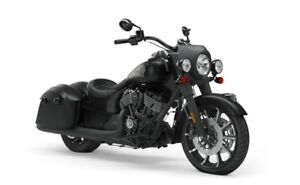 2019 Indian SPRINGFIELD DARK HORSE THUNDER BLACK SMOKE / 76$/s