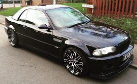 Carbon black 2003 BMW M3 convertible