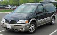 2002 Pontiac Montana Minivan, Van w/ 4 addt. tires included.