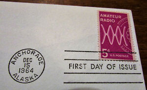 1964 US Amateur Radio Operators 5 Cent First Day Cover Kitchener / Waterloo Kitchener Area image 4