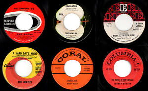 Cash for your old 45rpm records 45's vinyl, top $$$ Kitchener / Waterloo Kitchener Area image 1