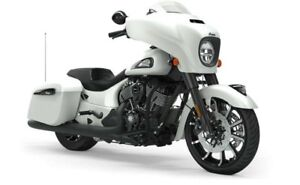 2019 Indian CHIEFTAIN DARK HORSE WHITE SMOKE / 97$/sem