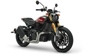 2019 Indian FTR 1200 S RED OVER STEEL GRAY