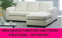 BRAND NEW CONDO SIZE SECTIONAL SOFA ..$449..
