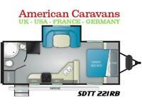 2021 HEARTLAND SUNDANCE 221RB 22FT SLIDEOUT American Caravan 5th Wheel Trailer