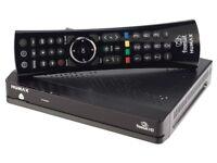 HumaxHD Freesat box with remote