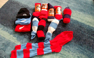 NZ Rugby Socks and Toques