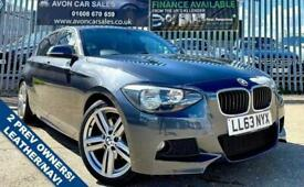 image for 2013 BMW 1 Series 2.0 125I M SPORT 5d 215 BHP AUTOMATIC! LEATHER! SAT NAV! 2 PRE
