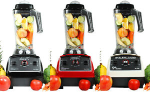 Smoothie Blenders - New Age Living BL1500, BL1800, QS & Vitamix