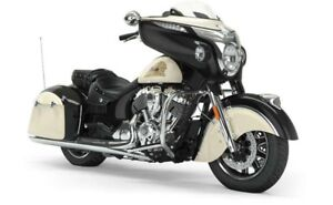 2019 Indian CHIEFTAIN CLASSIC THUNDER BLACK IVORY CREAM / 97$/