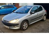 2002 PEUGEOT 206 1.4 GLX 5dr [AC] new MOT ideal 1st car