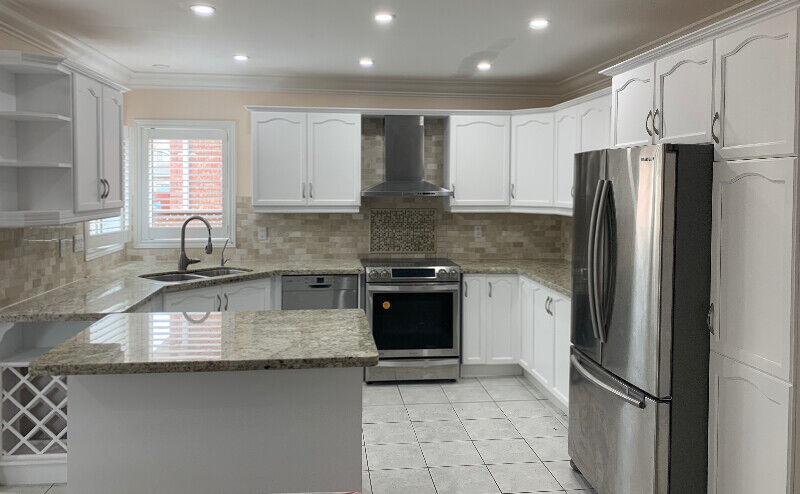 Kitchen Cabinet Spray Painting 647-772-3726 | Painters ...